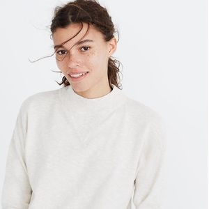 Madewell Relaxed Mockneck Sweater